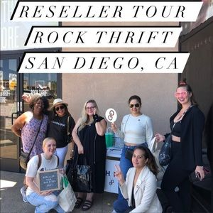 RESELLER TOUR POSH N SIP SAN DIEGO, CA 8/1/2021